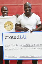 Jamaican Bobsled Team - 2014 Sochi Olympics
